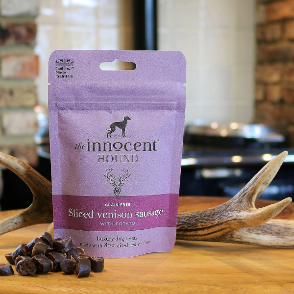 The Innocent Hound Sliced Venison Sausage