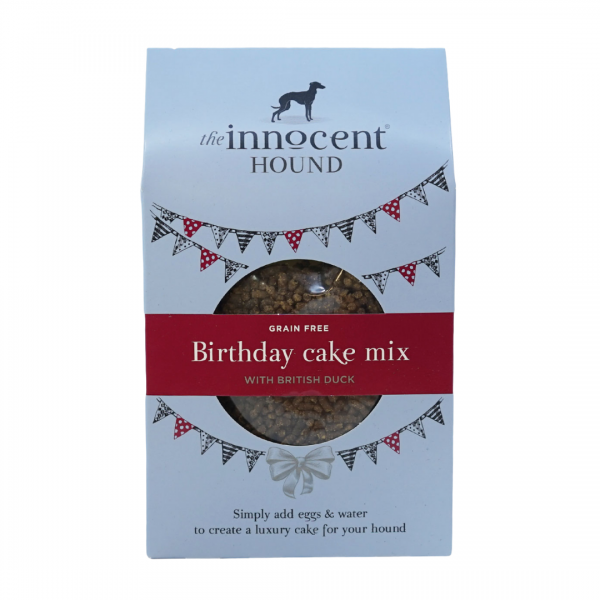 The Innocent Hound Birthday Cake Mix (Grain Free)