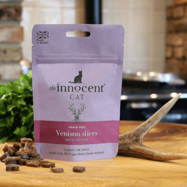 The Innocent Cat Venison Slices