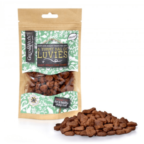 Green & Wild's Luvies Cat Treats