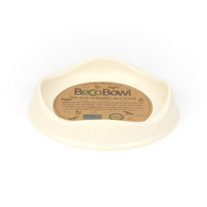 Beco Pets Eco Friendly Bamboo Natural Cat Bowl