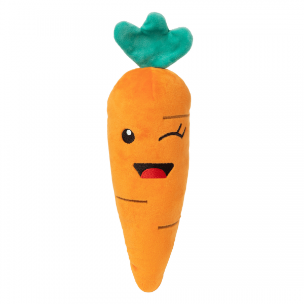 Carrot dog toy