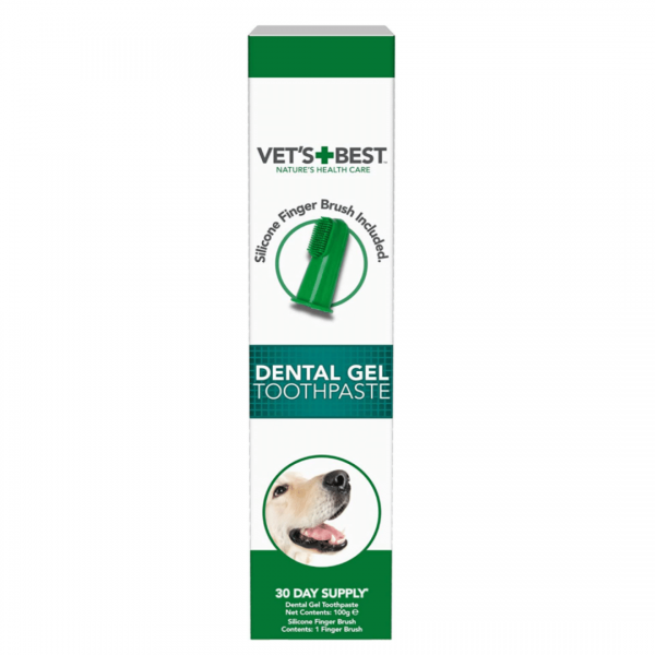 Dental gel toothpaste for dogs