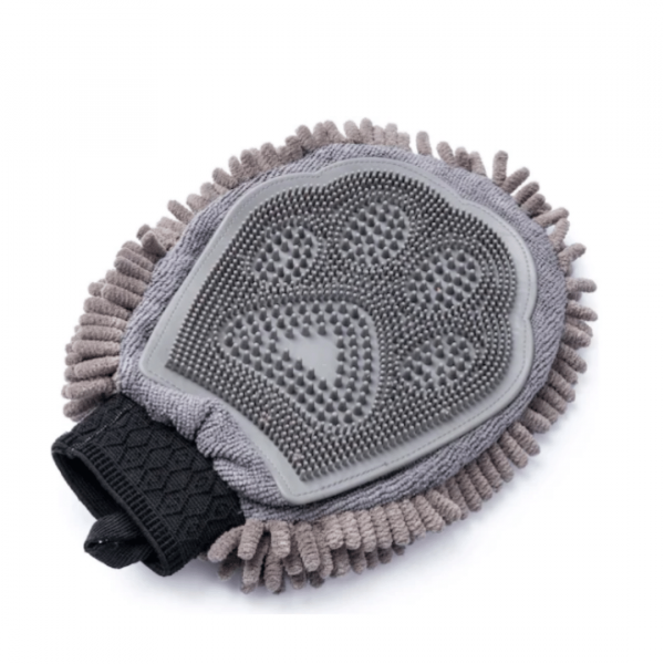 Wet Paw Drying Mitt for dogs