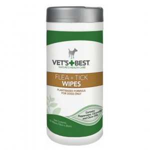Natural Flea and Tick wipes