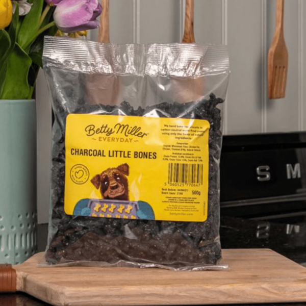 Charcoal Dog Biscuits
